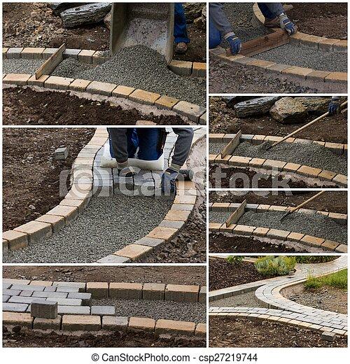 collage path construction - csp27219744