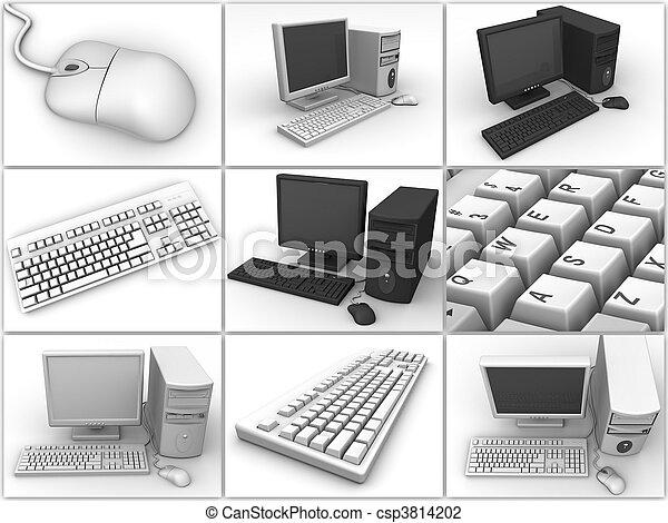 PC. Collage - csp3814202