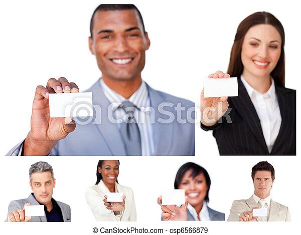 collage, projection, signes, professionnels - csp6566879