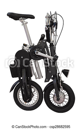 collapsible bicycle - csp28682595