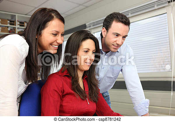 Colleagues taking a break - csp8781242