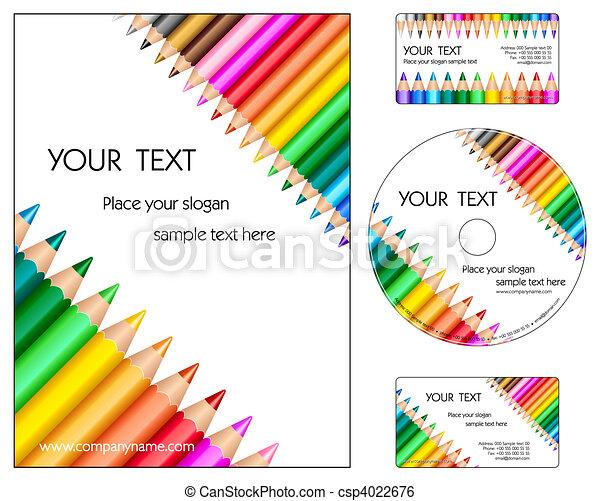 collectief ontwerp, opmaak - csp4022676
