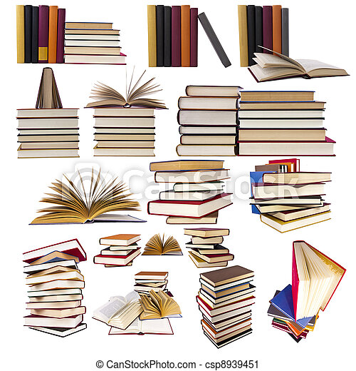 collection and set of books - csp8939451