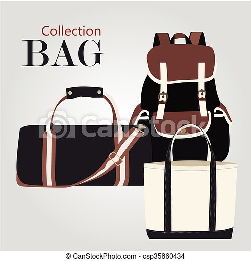 Collection bags  - csp35860434