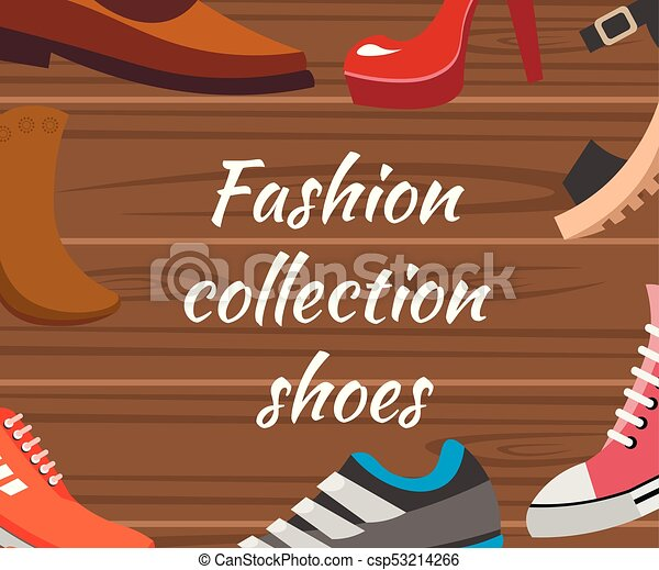 collection., differente, scarpe, vanners - csp53214266