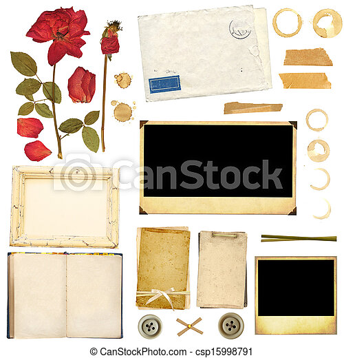 Collection elements for scrapbooking - csp15998791