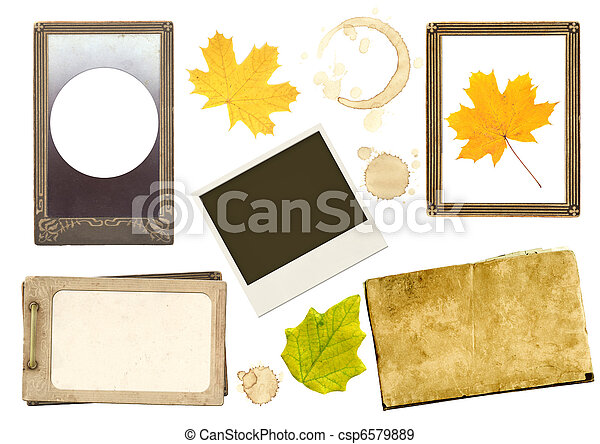 Collection elements for scrapbooking - csp6579889