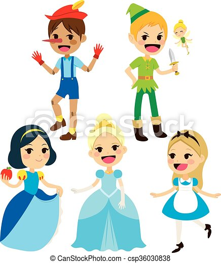 how to draw fairy tale characters