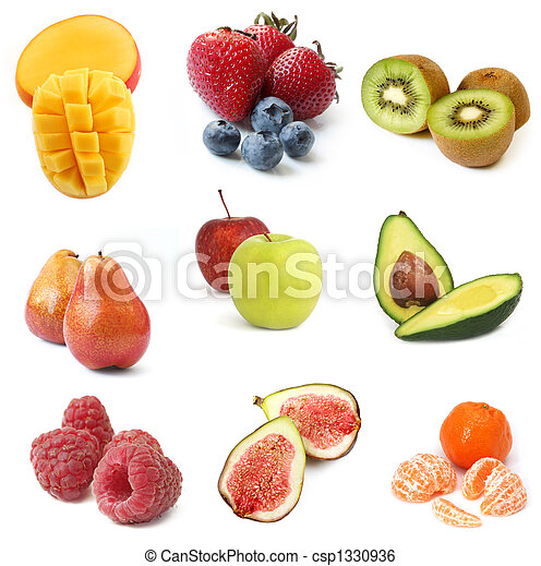 collection, fruits - csp1330936