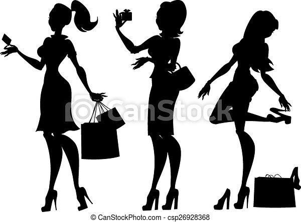 Colección de moda y belleza. - csp26928368