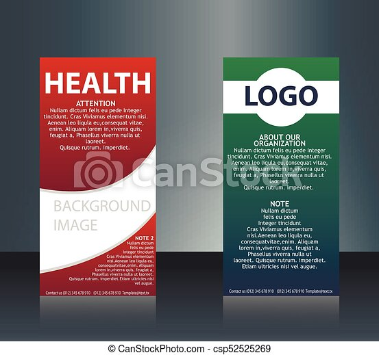 Collection of 2 abstract medical business cards or visiting cards on collection of 2 abstract medical business cards or visiting cards on different topic arrange in horizontal eps 10 reheart Image collections