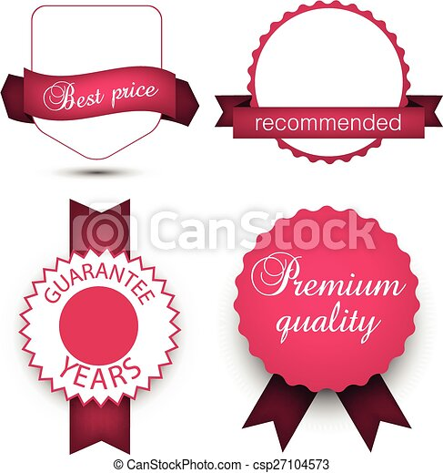 Collection of award badges. - csp27104573