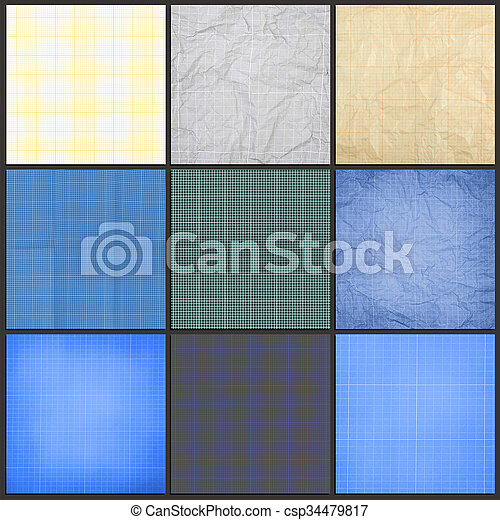 Collection of blueprint background millimeter engineering paper collection of blueprint background csp34479817 malvernweather Images