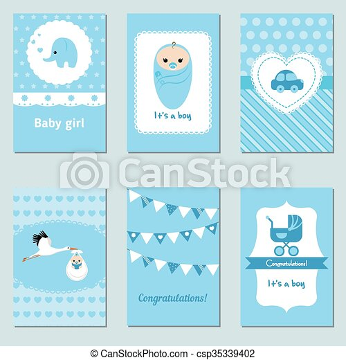 Baby Shower Karte Text.Collection Of Cute Baby Boy Card