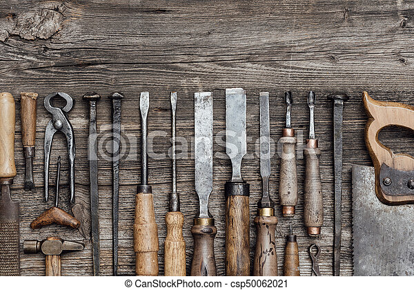 Collection Of Old Woodworking Tools Collection Of Old Woodworking