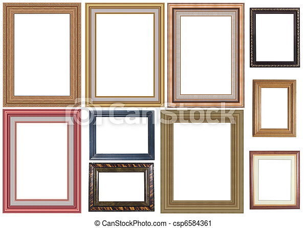 collection of picture frame - csp6584361