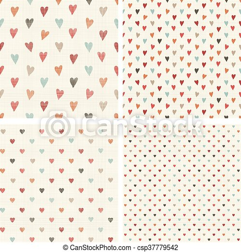 collection of seamless patterns - csp37779542