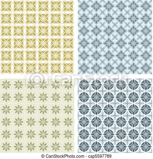 collection of the seamless textures - csp5597789