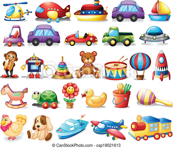Collection of toys - csp19021613