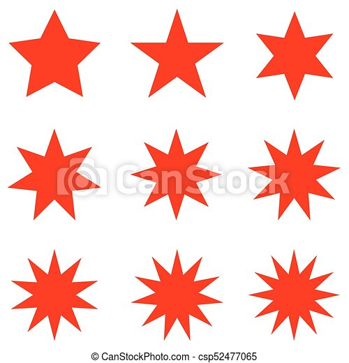 collection of trendy retro stars shapes sunburst design clip art rh canstockphoto com red sunburst clipart sunburst clip art images