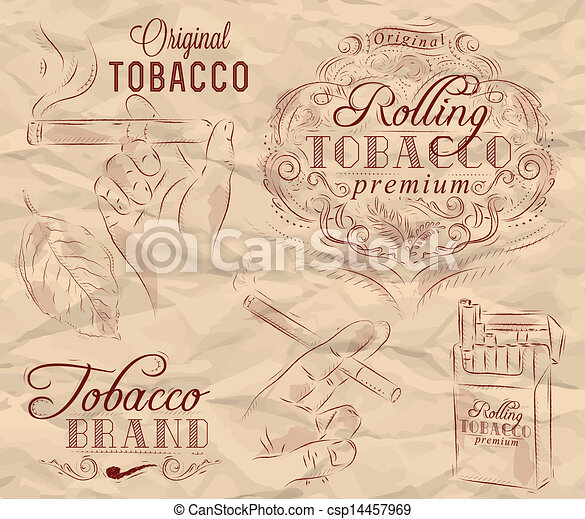 Collection on tobacco and smoking - csp14457969