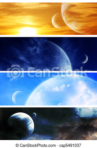 Collection space banners - csp5491037