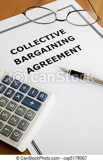 Collective Bargaining Agreement Image Of A Collective Bargaining