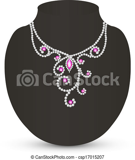 silhouette femme collier