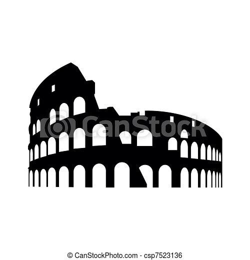 Collosseum Rome - csp7523136