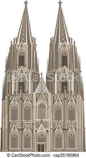 cologne cathedral rh canstockphoto com st basil cathedral clipart st pauls cathedral clip art
