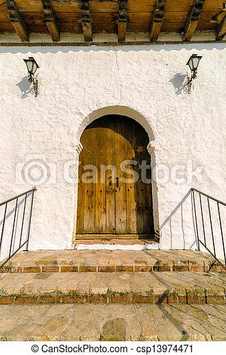 Colonial Door - csp13974471