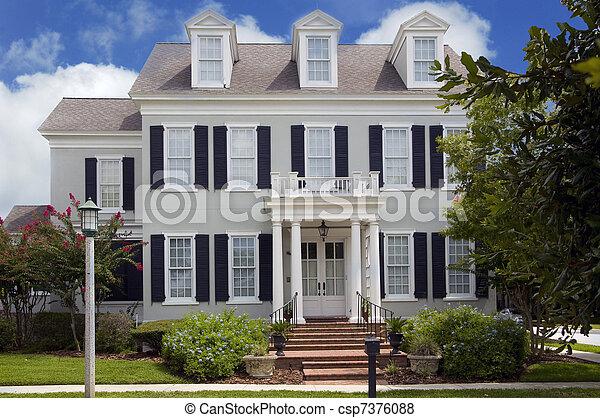 Casa Colonial - csp7376088