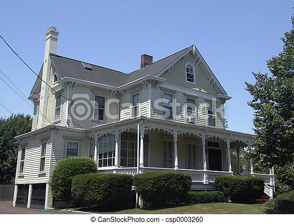 Colonial Home - csp0003260