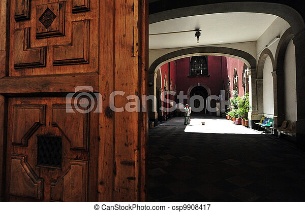 Colonial House - csp9908417