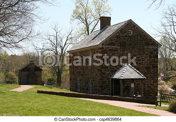 Colonial House - csp4639864