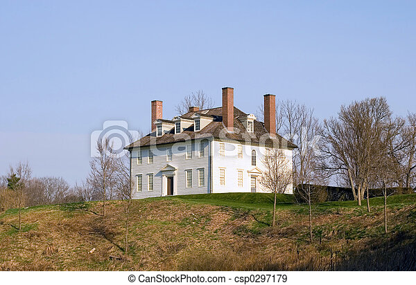 Colonial House - csp0297179
