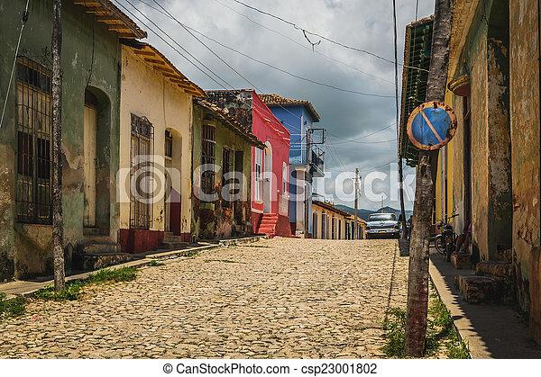 Colonial house Trinidad - csp23001802