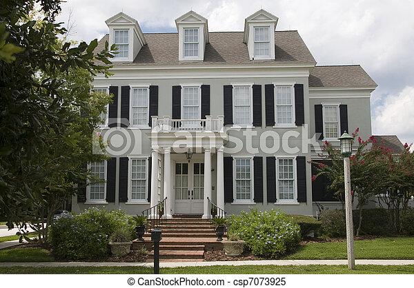 Coloniale casa csp with casa stile coloniale - Casa stile coloniale ...