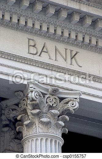 colonne, banque - csp0155757