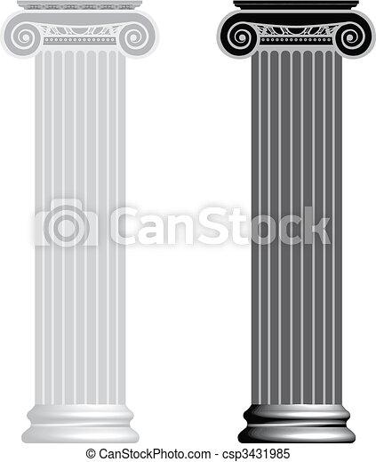 colonne ionique - csp3431985