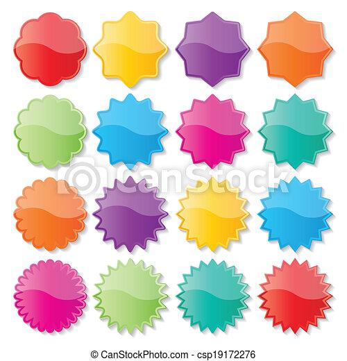 coloré, cachets - csp19172276