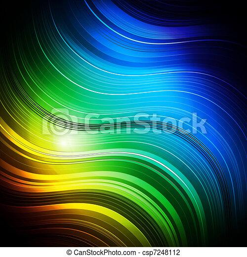 coloré, fond - csp7248112