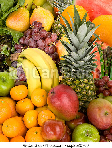 coloré, fruits - csp2520760
