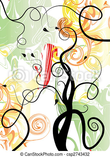 Color art background - csp2743432