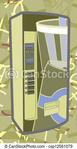 Color art machine - csp12561079