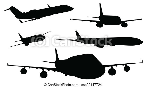 Color, aviones, negro. Color, aviones, ilustración, fondo negro, blanco.