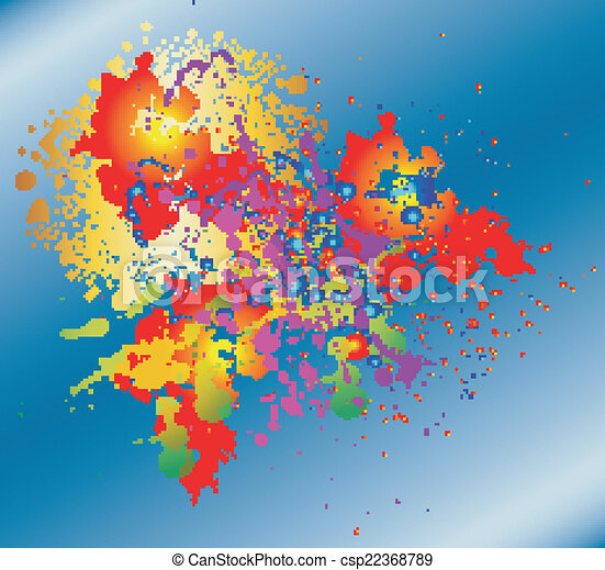 Color background - csp22368789