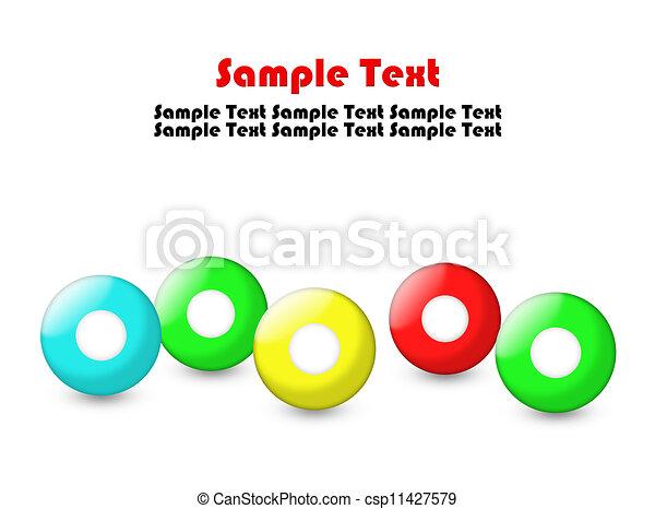 Color balls - csp11427579