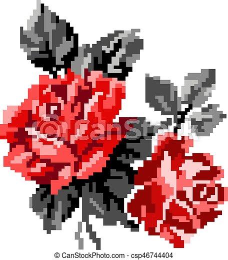 Color Bouquet Of Flowers