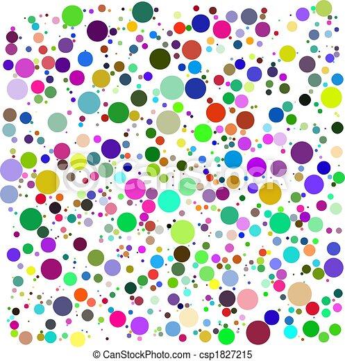 color, burbujas, vector - csp1827215
